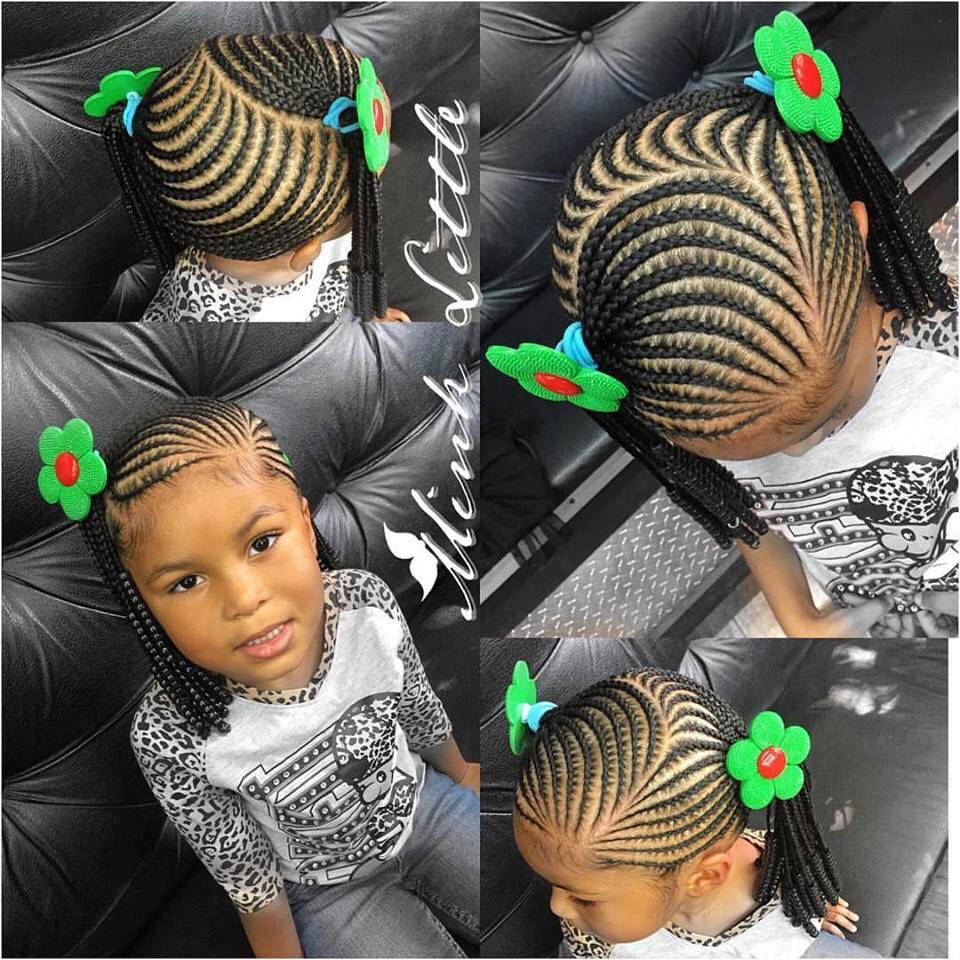 Little girl braiding styles | #teamnatural | Pinterest ...