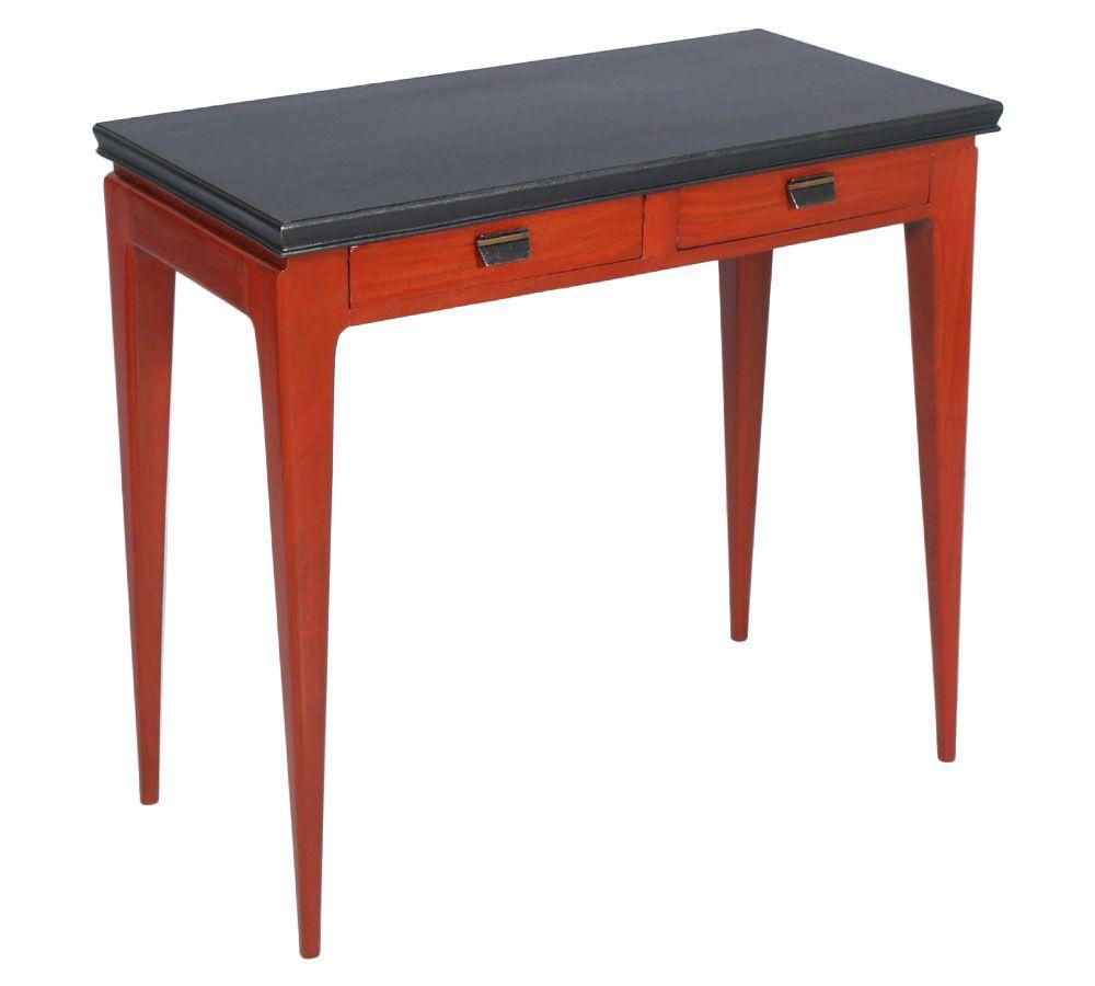 Scrittoio Tavolino Console Anni 40 In Mogano Vintage Design Gio Ponti Mit Bildern Design