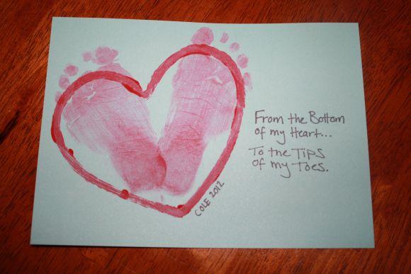 Baby's first Valentine's Day craft | Valentine crafts ...