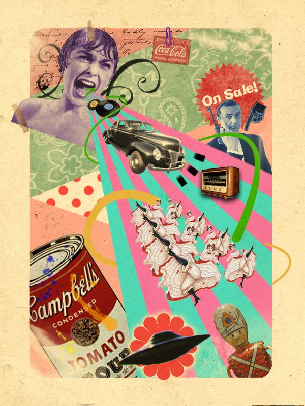 Collage Art | ... Creative Collage Art - Volume I | Art & Artists ...
