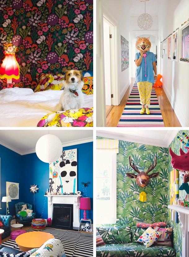 The home of interior designer/blogger/colour queen; Alex Fulton. Bleheim, New Zealand / Photography by Julia Atkinson for Studio Home + Junior's Design Blog