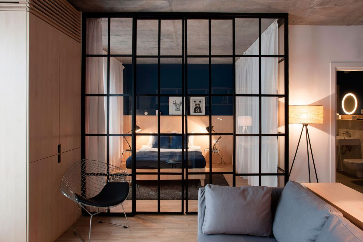 Small Apartment In Bucharest Defined By Flexibility And Comfort Apartment Interior Bedroom Interior Cozy Apartment