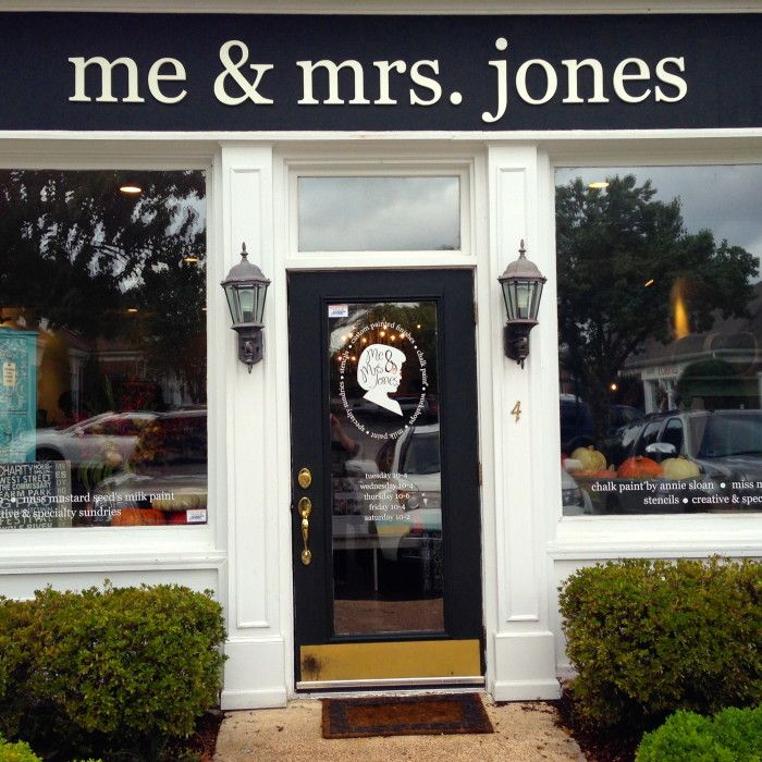 Me Mrs Jones Painted Finishes And Decorative Painting For Interiors Furniture And Fixtures Storefront Design Shop Front Signage Shop Facade