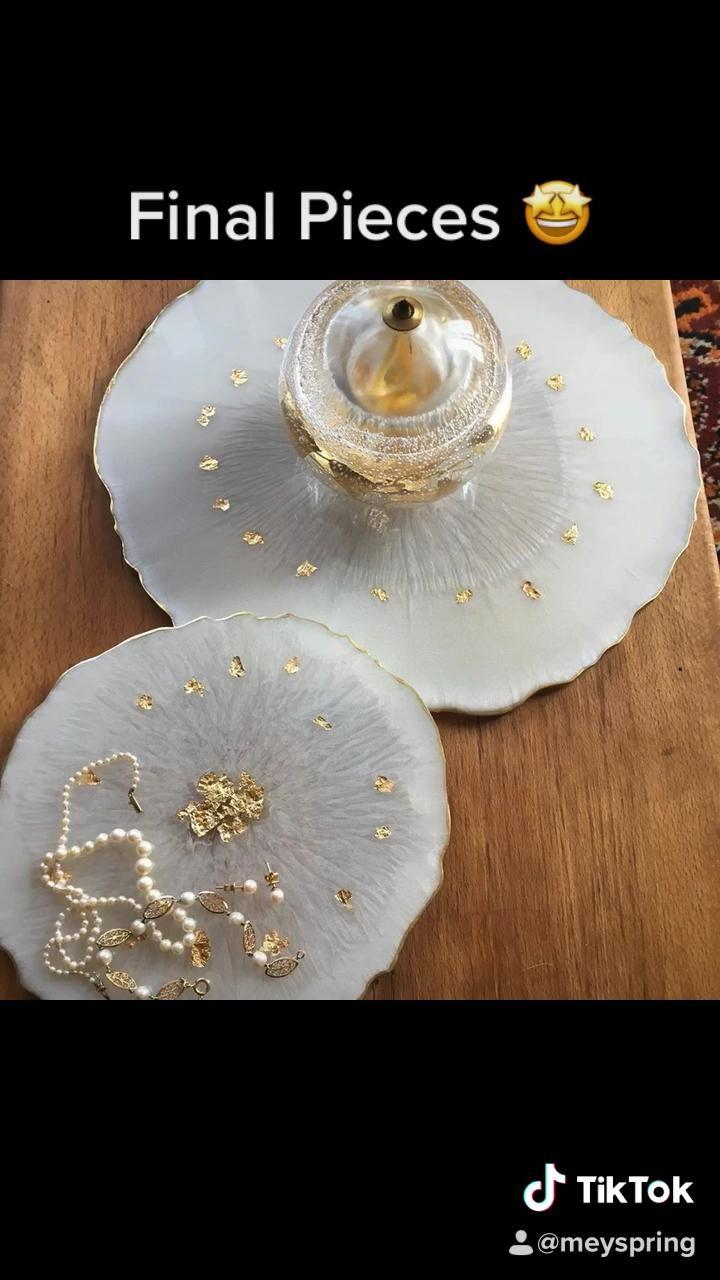 Photo of MEYSPRING White Pearl – Pigment Powder for Resin Art