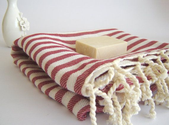 Bath and Beach Towel Handwoven Turkish Peshtemal by TheAnatolian, $24.00