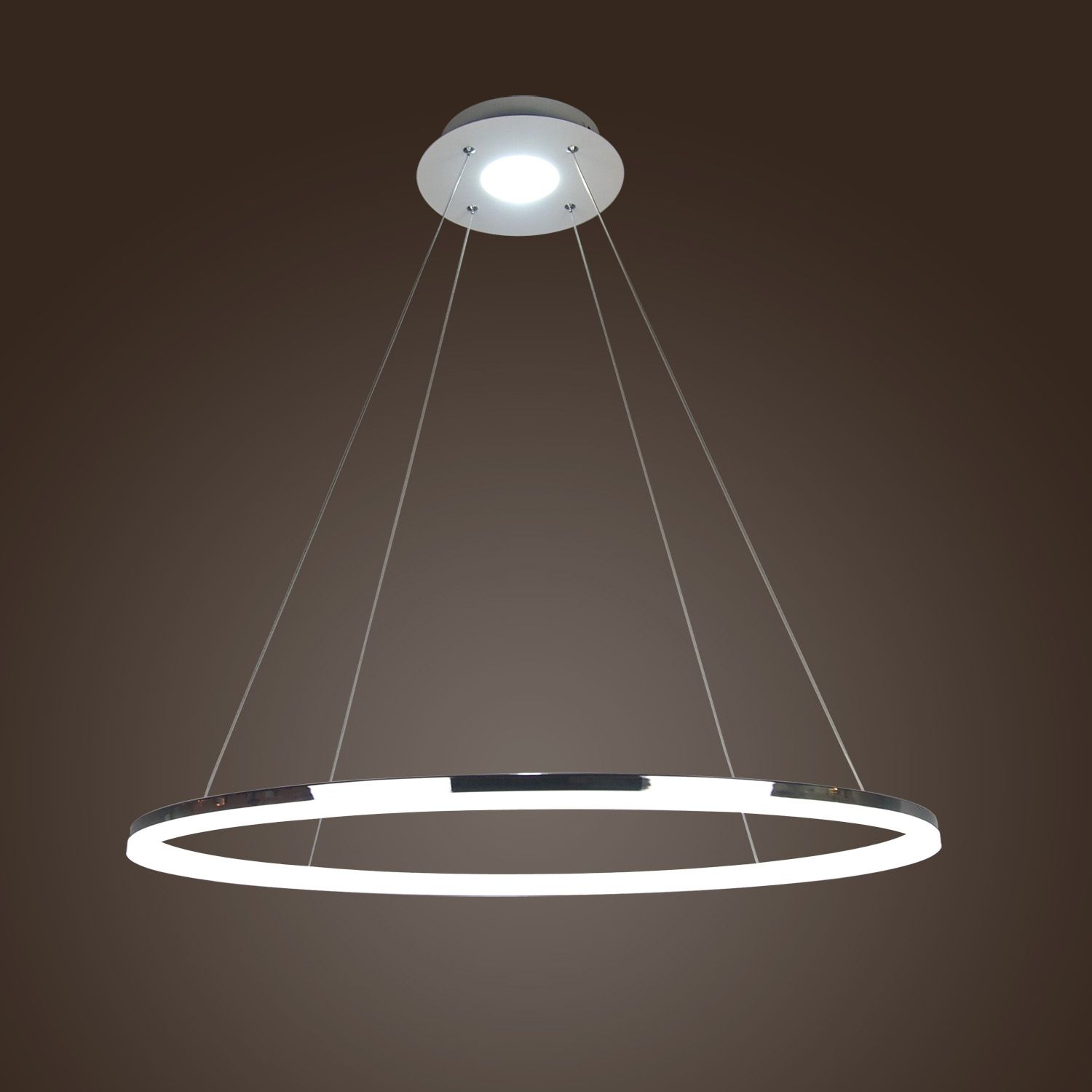 Buy In Stock Modern LED Acrylic Pendant Light Living Ring Lights With Lowest