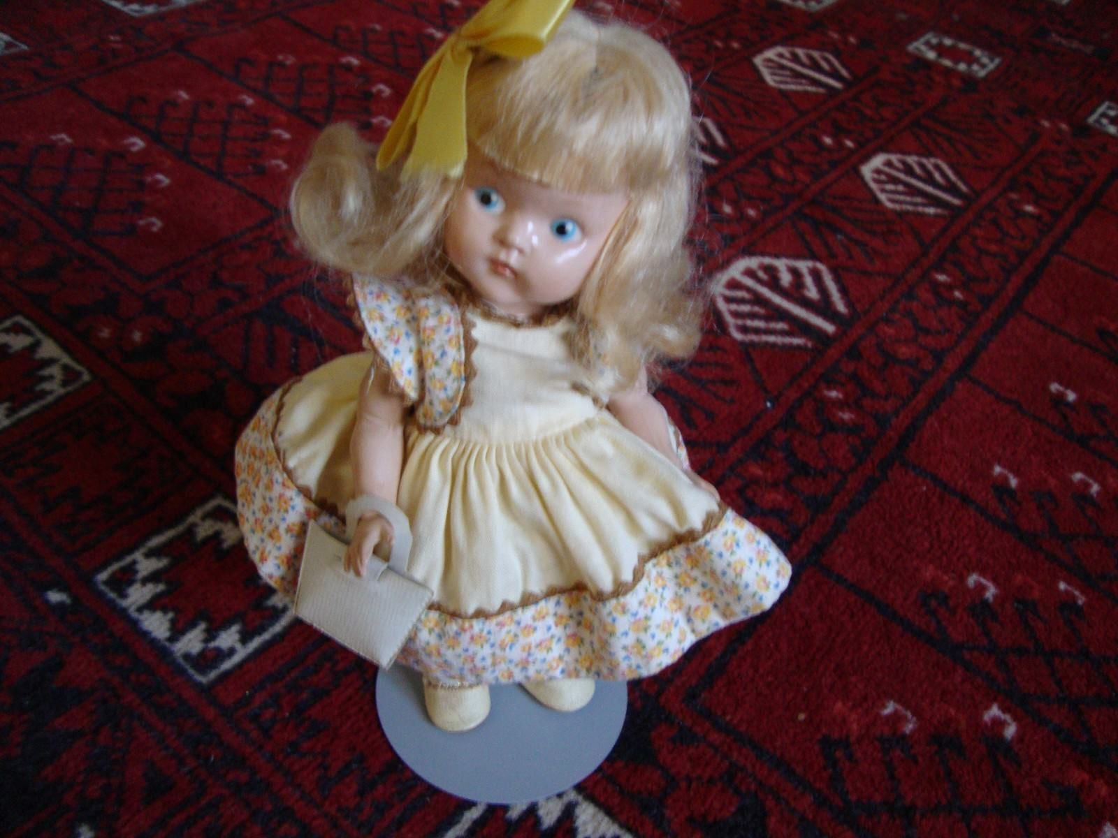 Vogue painted eye ginny bonnie hair bow and dolls