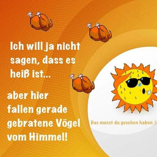 Pin von Susanne Doehmann auf Be different | Hitze lustig ...