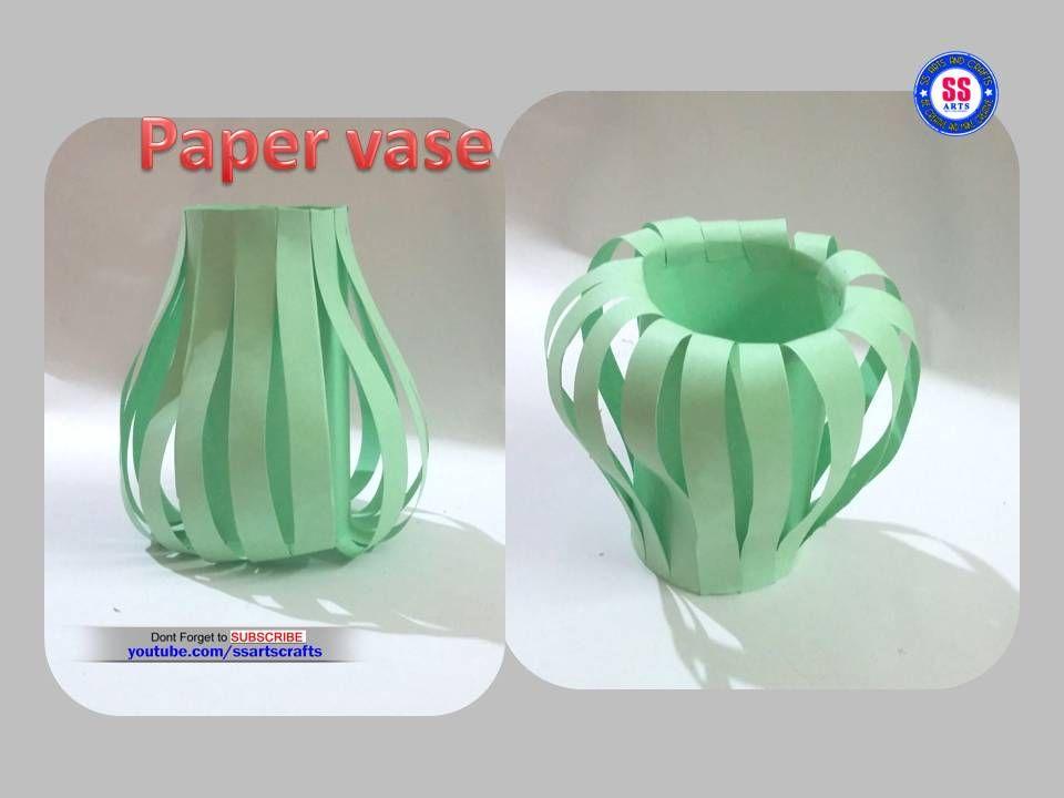 How To Make Paper Vase At Home - Minimalist Interior Design How To Make Paper Vase At Home - Minimalist Interior Design Diy Paper Crafts how to make paper vase diy craft