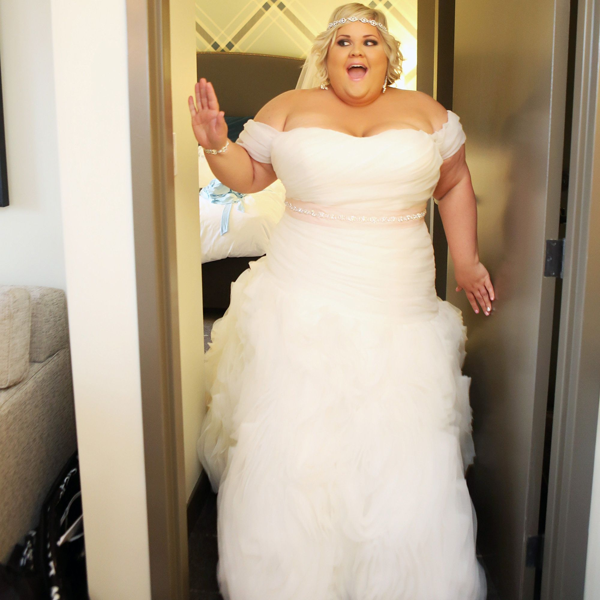 Plus Size Curvy Bride Wedding Bridesmaids Plus Size Fashion