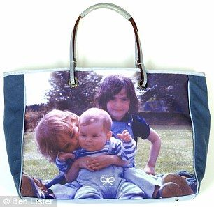 She also designed the Be A Bag rangewhich allows shoppers to personalise their totes and washbags with family photographs| Anya Hindmarch