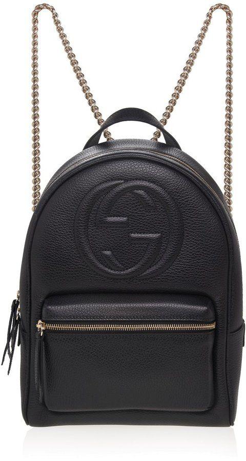 b1a0da88fa9b Soho Leather Chain Backpack