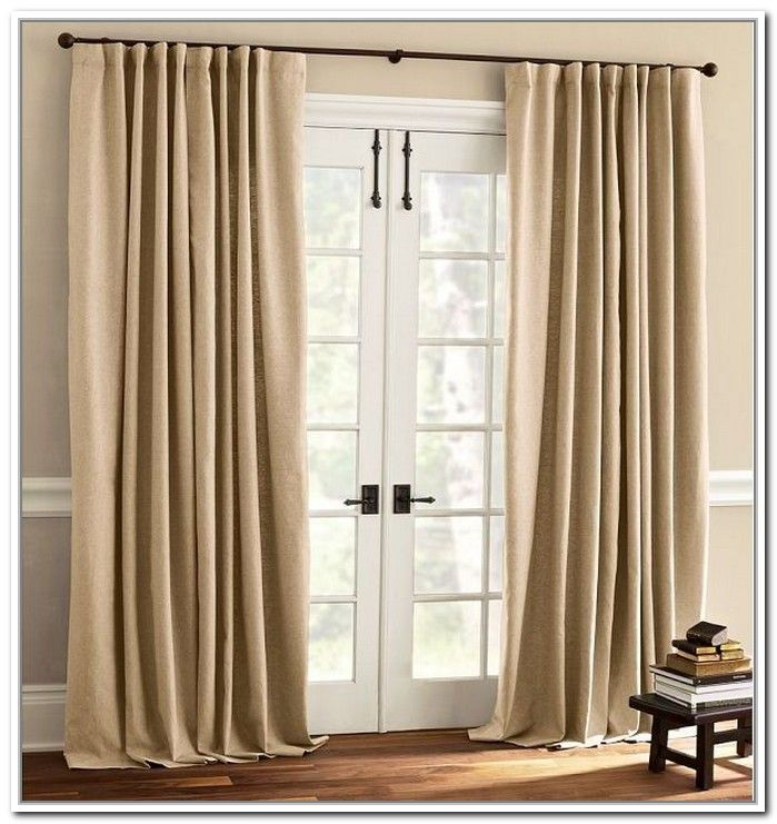 curtains over french doors - Google Search | House Ideas ...