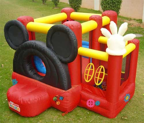 Mickey Clubhouse Bounce House