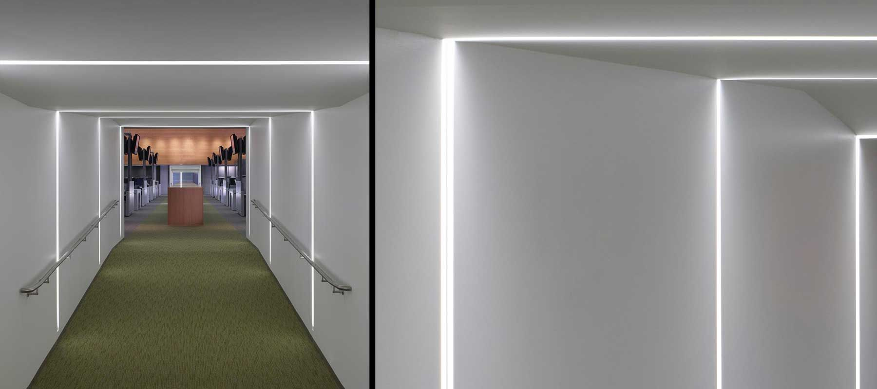 Focal Point Lighting | Seem 4 Wall To Ceiling Corner