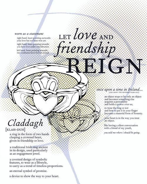 Claddagh rings. <3 | My Favorites | Pinterest | Nudos celtas, Celta ...