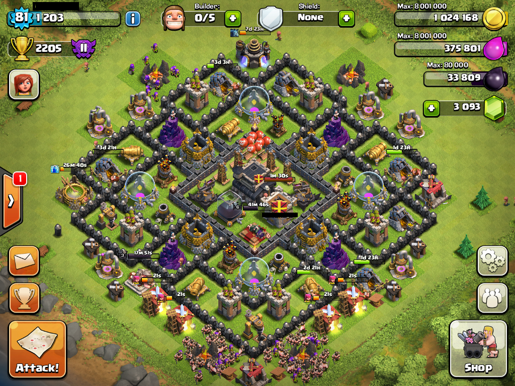 Buy, sell trade Clash of Clans accounts with the members of world's largest  online game