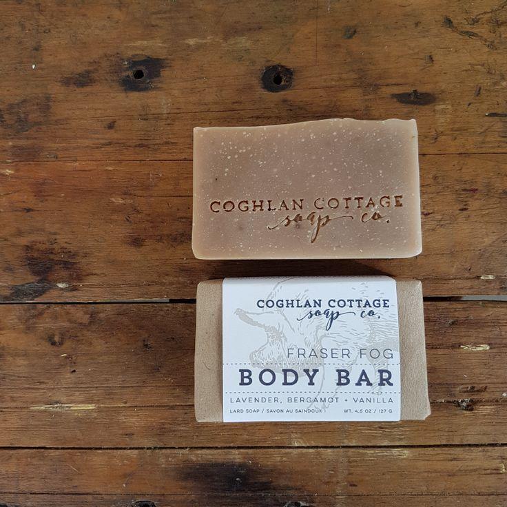 Fraser fog solid shampoo bar by coghlan cottage soap co