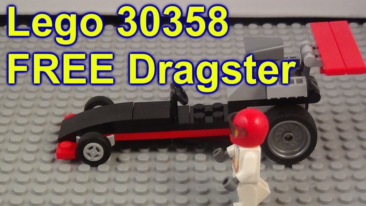 Lego 30358 City Dragster Free Promotional From Lego Website