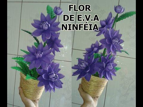 Mega Flores Flores Em Eva Crisantemo Passo A Passo Youtube