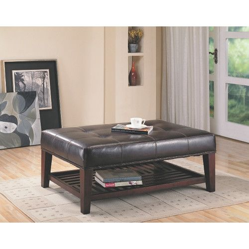 Martinelli Coffee Table With Storage Coffee Table Furniture Ottoman Table
