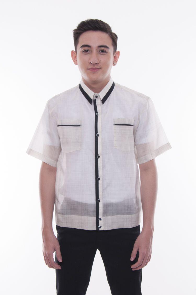 Pre Order Jusi Pina Polo Jack Barong Tagalog Black 001 Obsessed