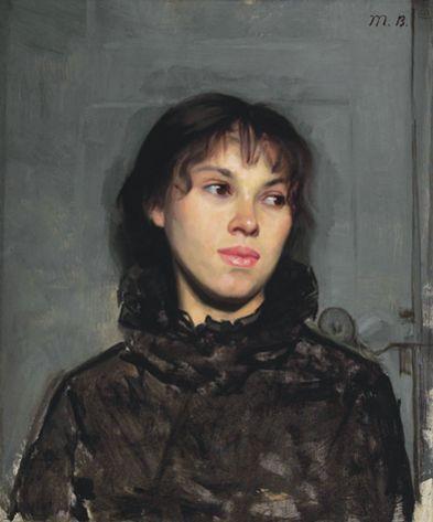 Marie Bashkirtseff - Portrait de Femme - (www.bashkirtseff.com.ar)