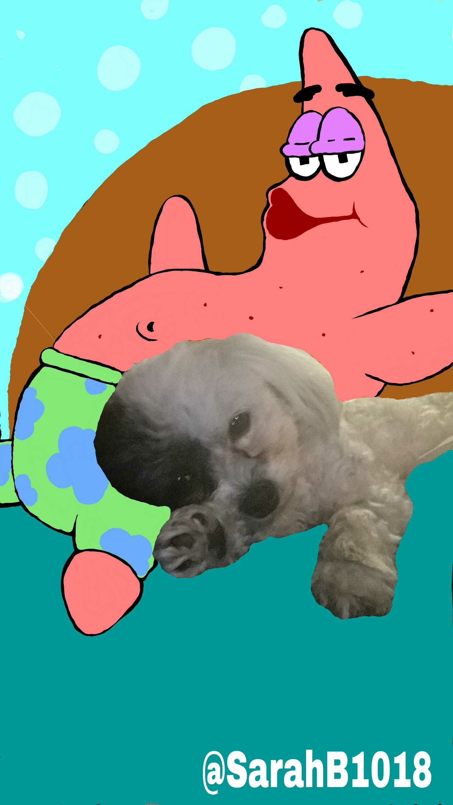 Patrick star snapchat