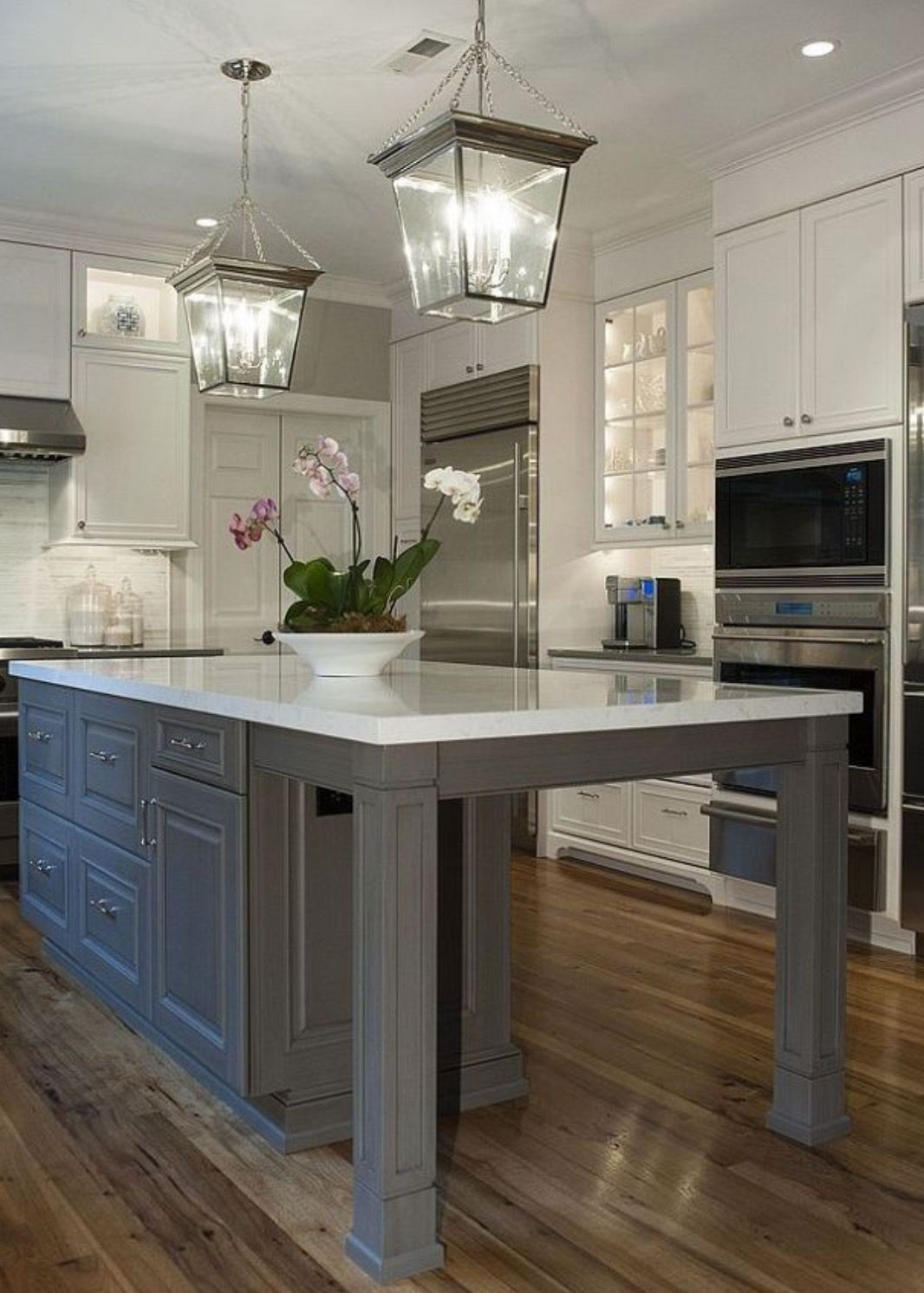 Painting and refinishing existing cabinets can save a lot ...