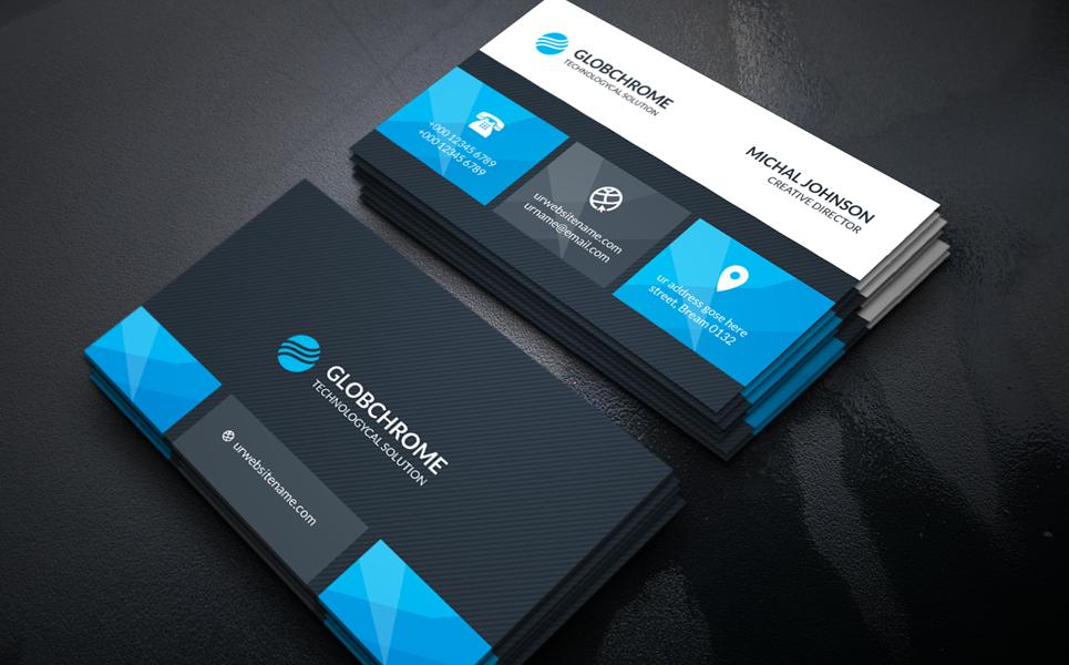 Corporate Business Card Corporate Identity Template 67902 Business Cards Corporate Identity Corporate Business Card Corporate Business