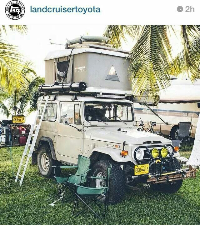 Roof Top Tent, Land Cruiser Y