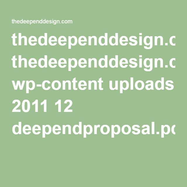 thedeependdesign.com wp-content uploads 2011 12 deependproposal.pdf