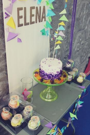 Hostess with the Mostess® - Geometric Rock Climbing Party