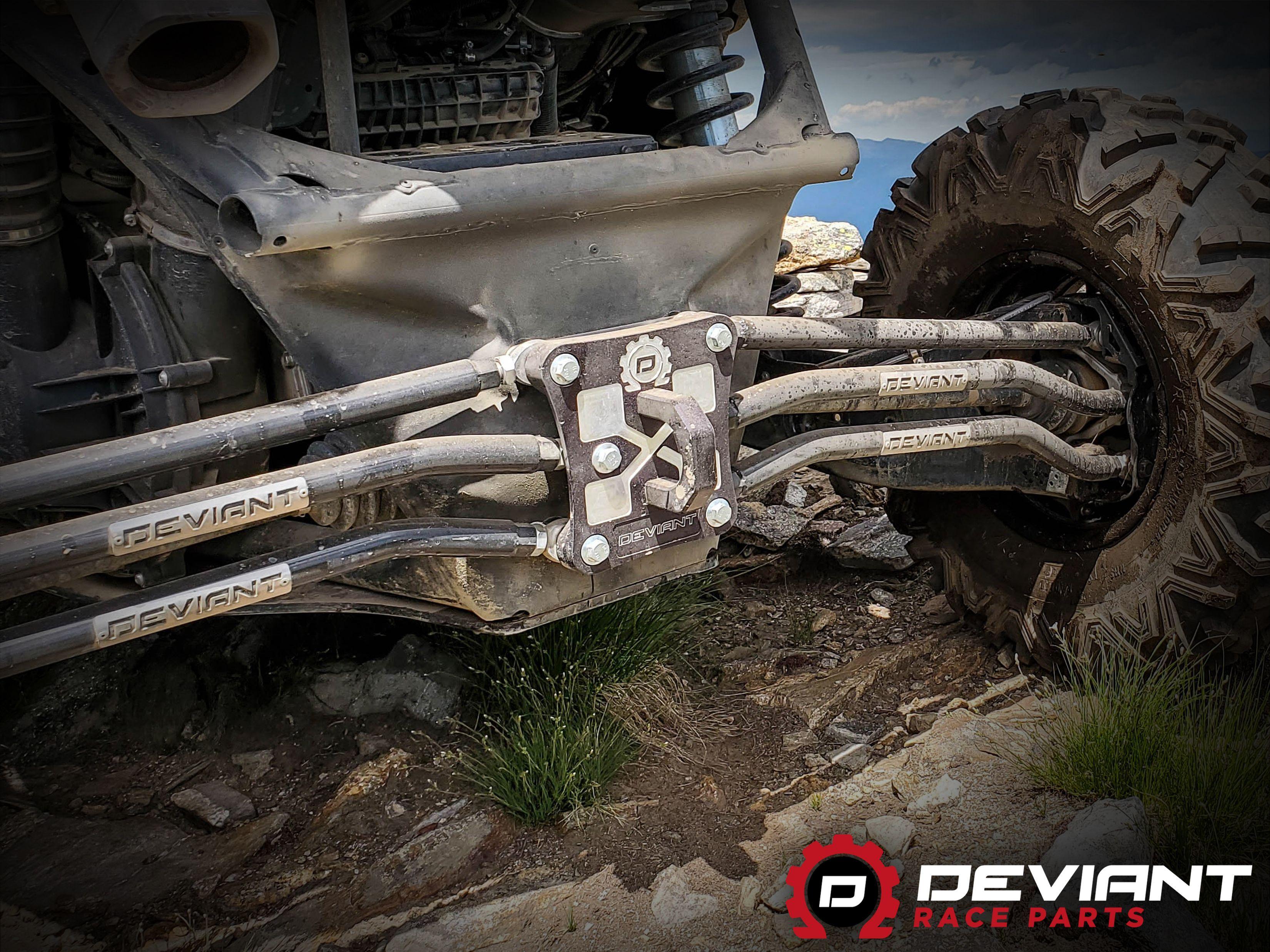 Canam maverick x3 heavyduty rear end complete with a