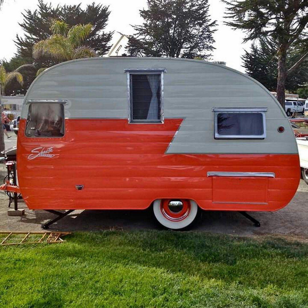 Vintage Canned Ham Camper Trailer Project 26 Vanchitecture Vintage Camper Camper Trailers Vintage Camper Remodel