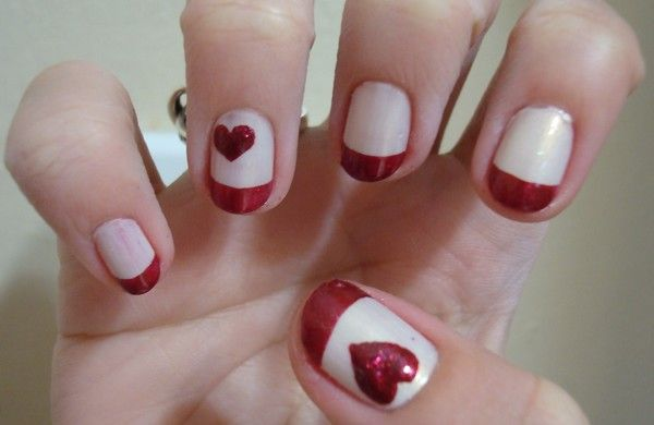 Simple Valentine Day Nail Designs... | Valentine's Day ...