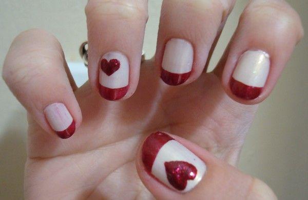 Simple Valentine Day Nail Designs... | Valentine's Day ...