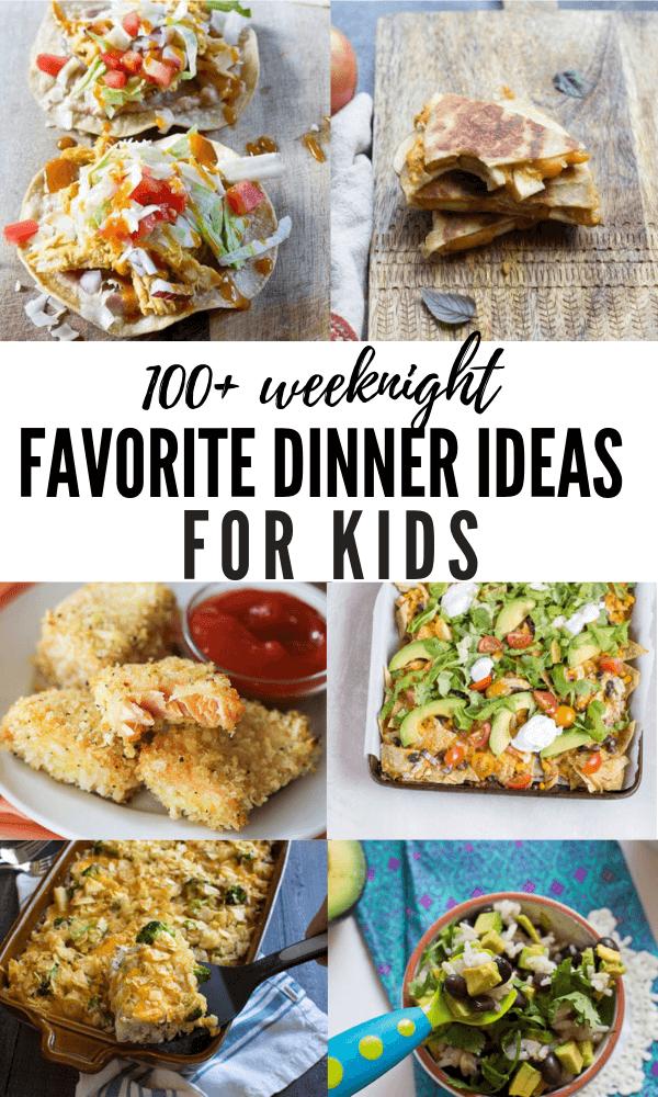 100+ Dinner Ideas for Kids images