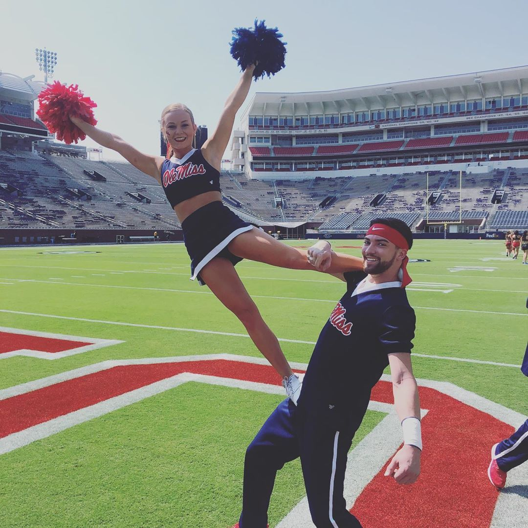 And thats another rebs win!!! olemisscheer carleehopping