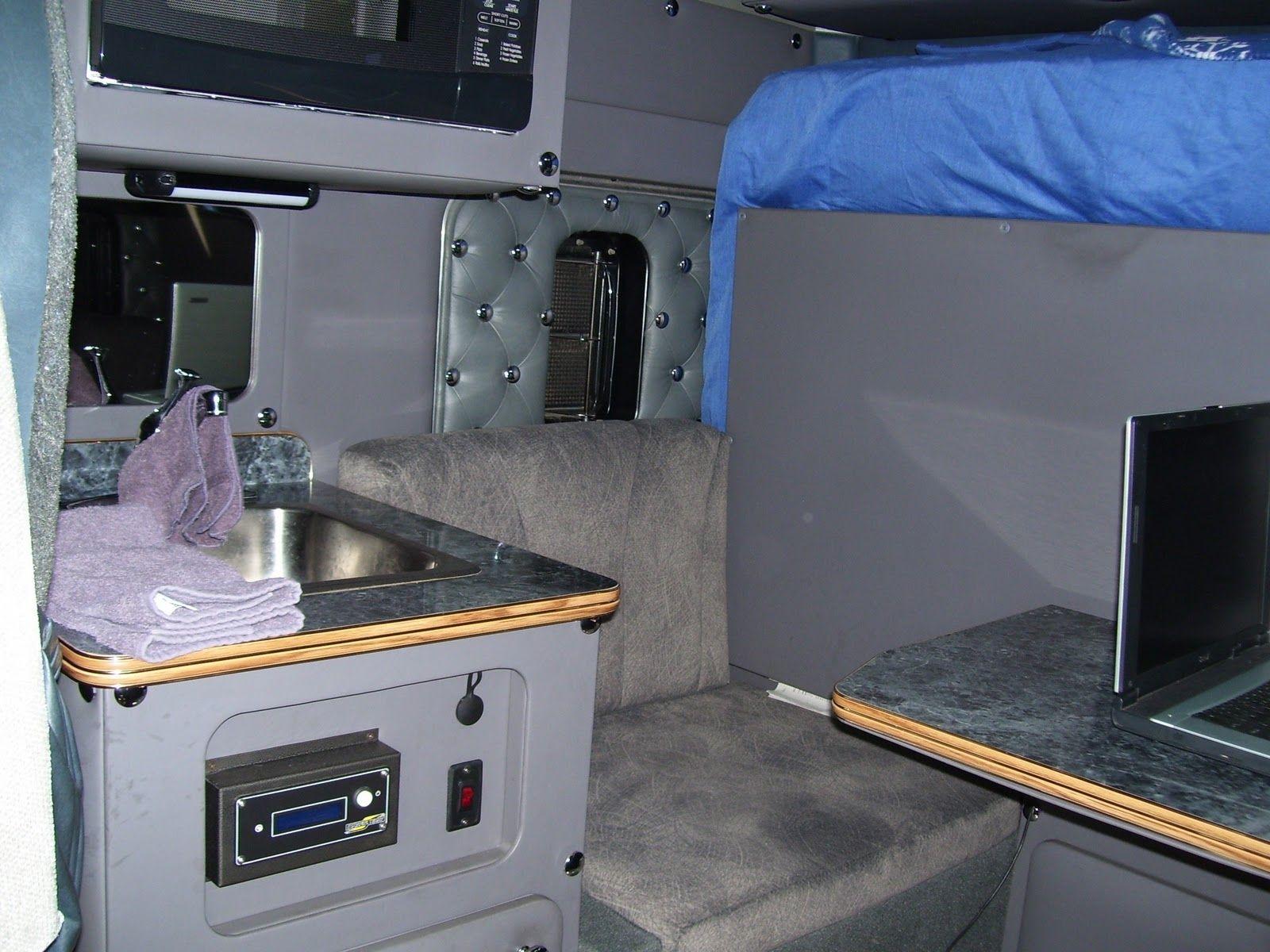 Semi Truck With Bathroom