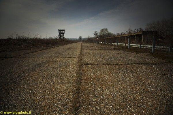 Pista abbandonata: Morano Sul Po