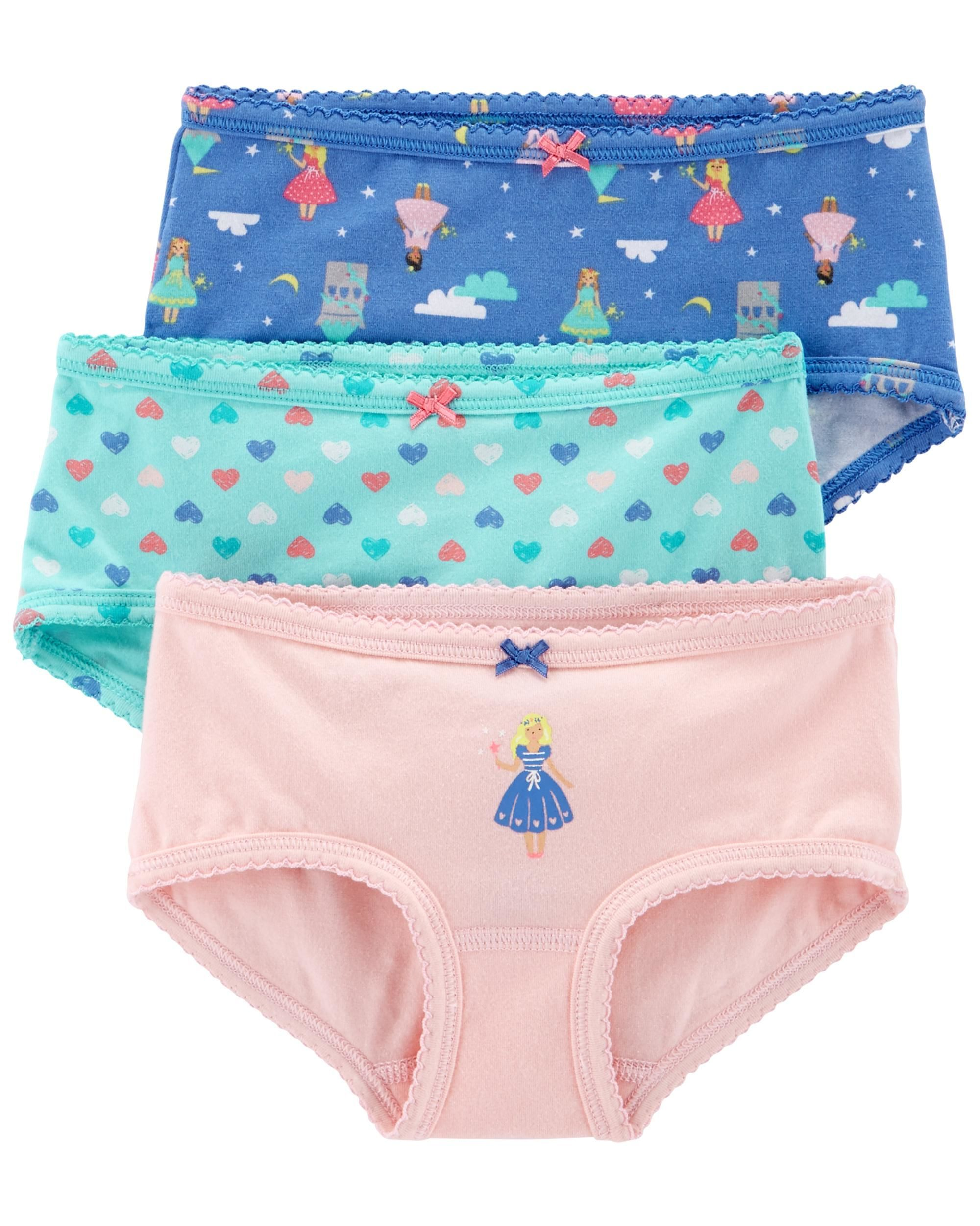 52df9197aaa8 3-Pack Stretch Cotton Undies | SARAH | Carters baby clothes, Cotton ...