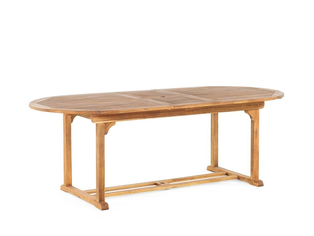 Table De Jardin Extensible En Bois Java In 2020 Table Furniture