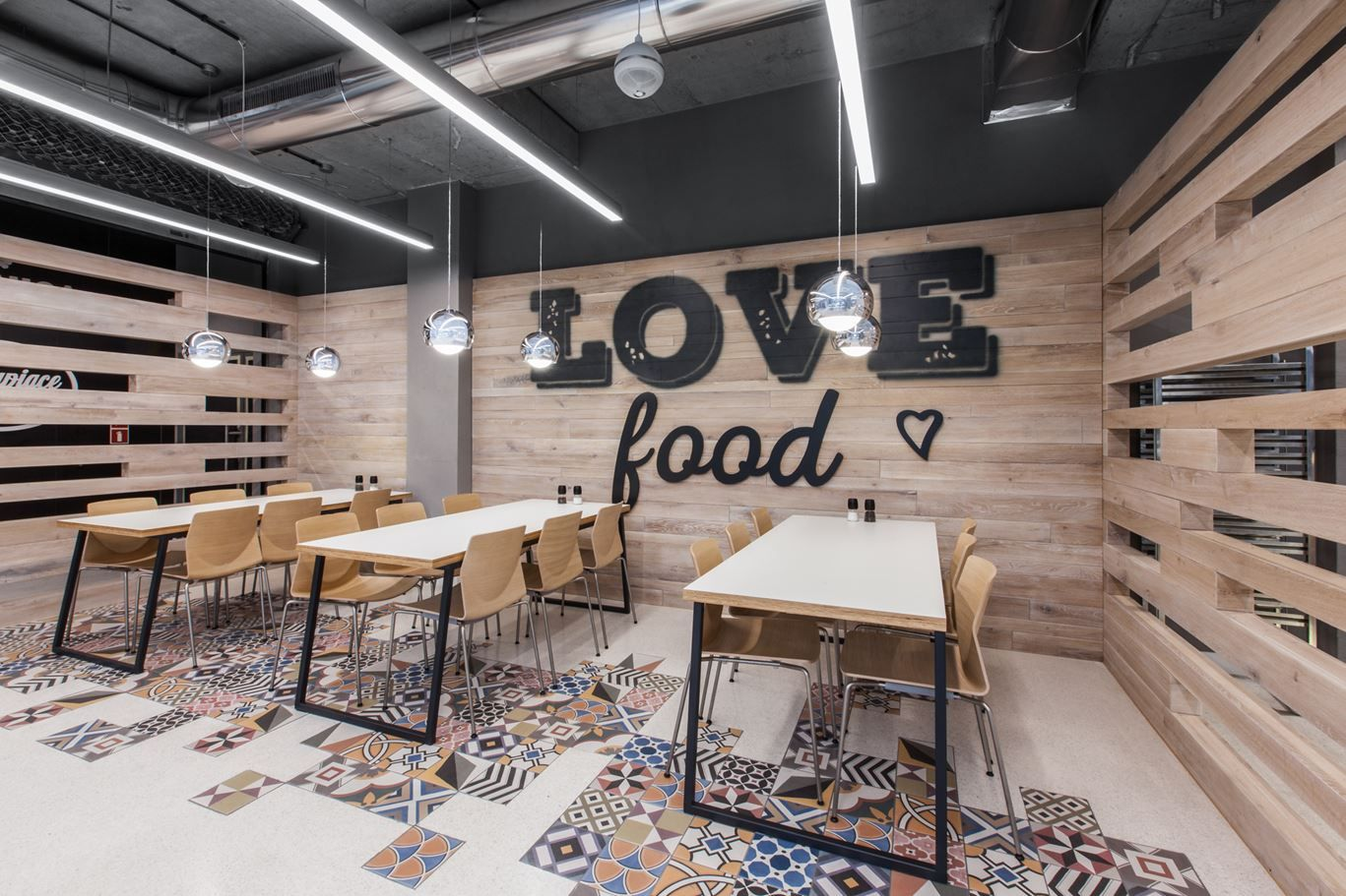 Restaurant In LIDL Headquarters Picture gallery (With