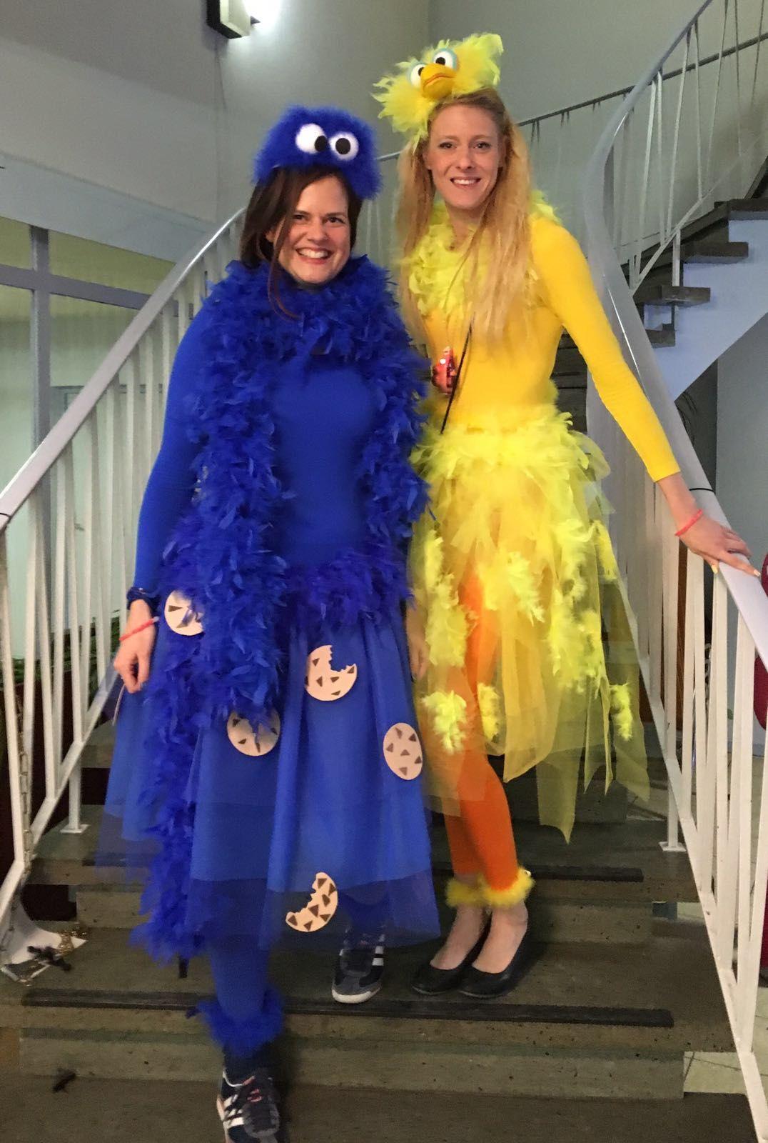 Krumelmonster Und Bibo Kostum Fasching Halloween Costumes
