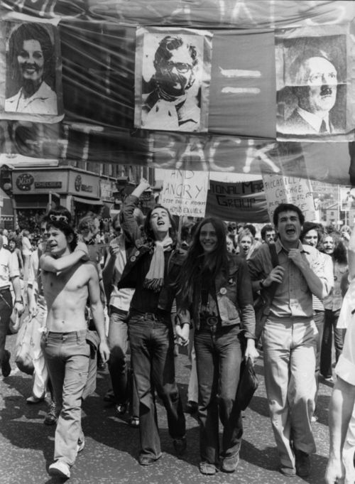 Gay rights protesters [1970s]