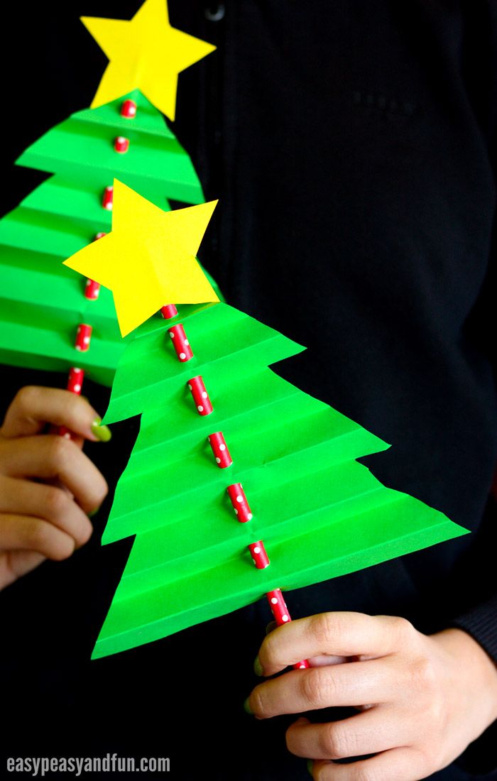 Accordion Paper Christmas Tree Easy Peasy And Fun Christmas Tree Crafts Xmas Crafts Paper Christmas Tree