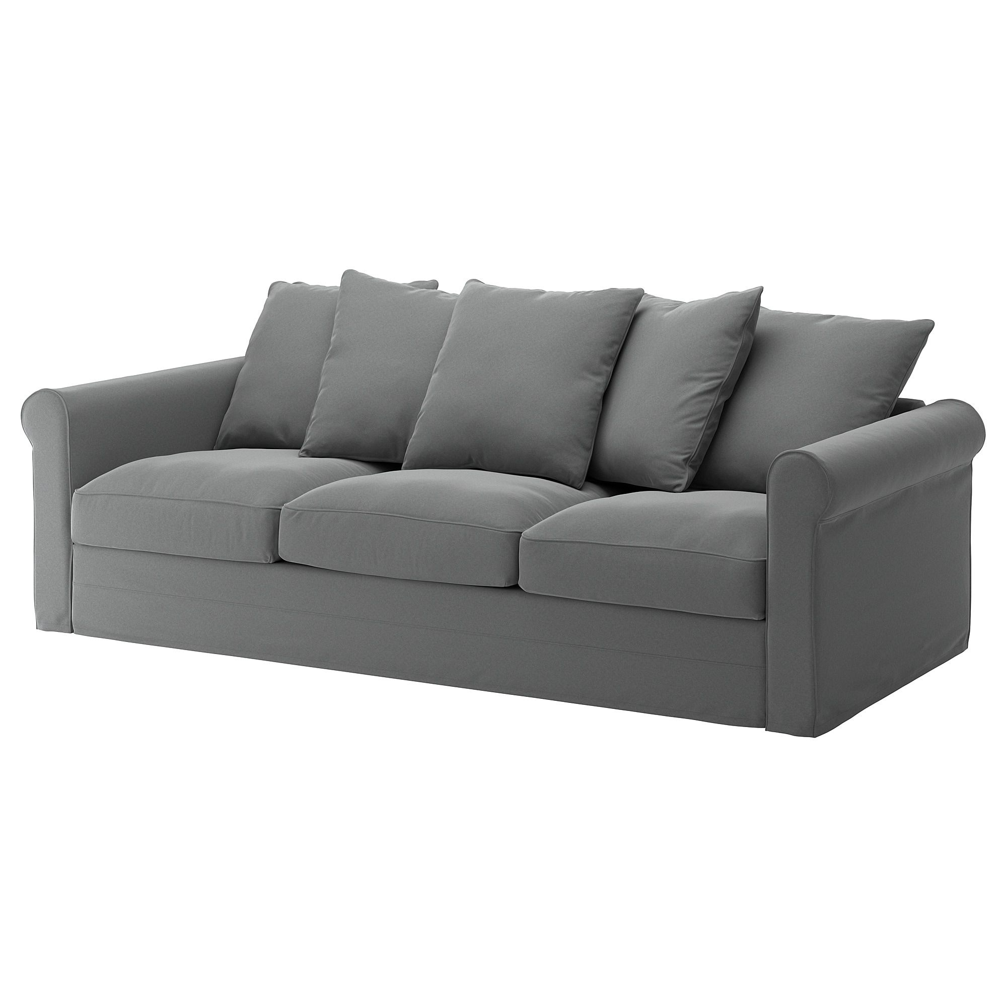 Canape Ikea Backabro 3 Places GrÖnlid Sofa Ljungen Medium Gray Chez Moi Sofa Ikea Sofa