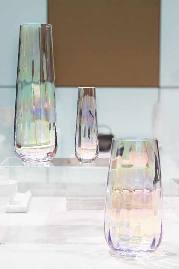 Lsa International Pearl Vases Featured In Ambientes Trend Area In