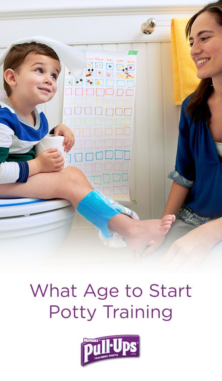 Wondering what age your child should start potty training ...